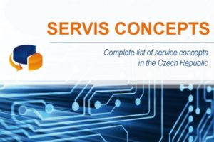 SERVIS CONCEPTS - Complete list of service concepts in the Czech Republic