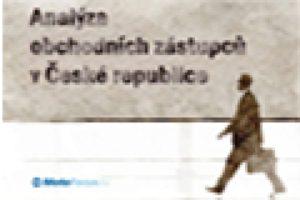 Analýza obchodních zástupců v České republice – vyhodnocení