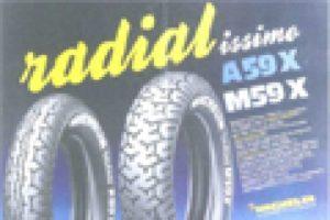 Motocyklová pneumatika MICHELIN X Radial slaví v roce 2012 své 25.výročí