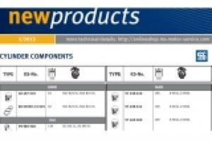 Nové produkty Pierburg a Kolbenschmidt