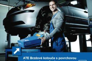 Povrchová úprava kotoučů ATE