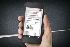 Vyhledávač NGK pro smartphony a tablety