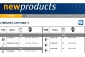 Nové produkty Pierburg a Kolbenschmidt - 04/2013
