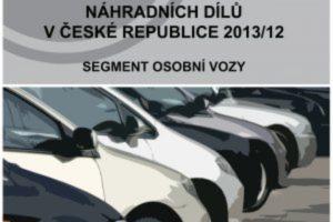 Analýza: Distribuční síť prodeje náhradních dílů pro osobní vozidla v České republice 2013/12