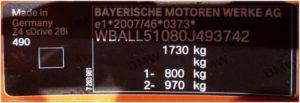 Výrobný štítok je nezanedbateľný identifikátor vozidla