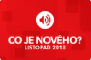 Nextis: Novinky pro listopad 2013