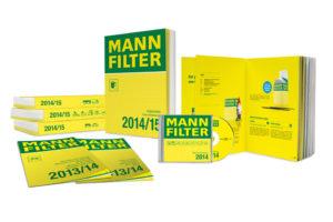 Nové katalogy MANN-FILTER