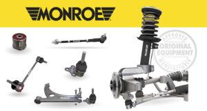 Podvozkové díly Monroe® Suspension