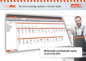 On-line katalóg repdoc v novom šate