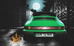 Kalendář Standox 2016: Žabí princ jako zelené Porsche