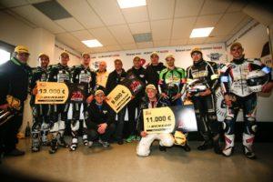 Čiapka pre víťaza a peňažné ceny pre tímy Dunlop v Le Mans