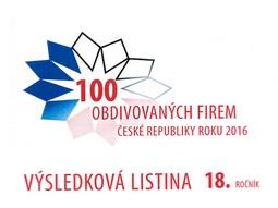 Brisk patří mezi 100 obdivovaných firem ČR