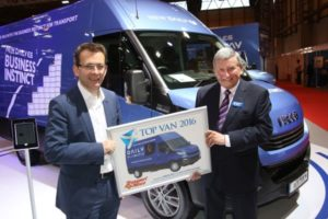 "Iveco Daily Hi-Matic získalo ocenenie ""Top Van 2016"" od časopisu Transport News"