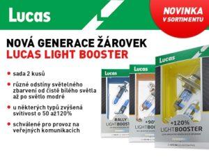 ALLSTAR: Automobilové žárovky LUCAS LIGHT BOOSTER