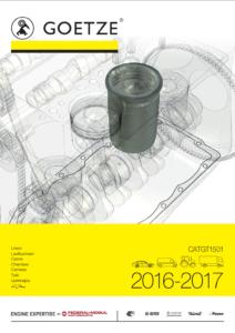 GOETZE - Nový katalóg valcových puzdier/ vložiek