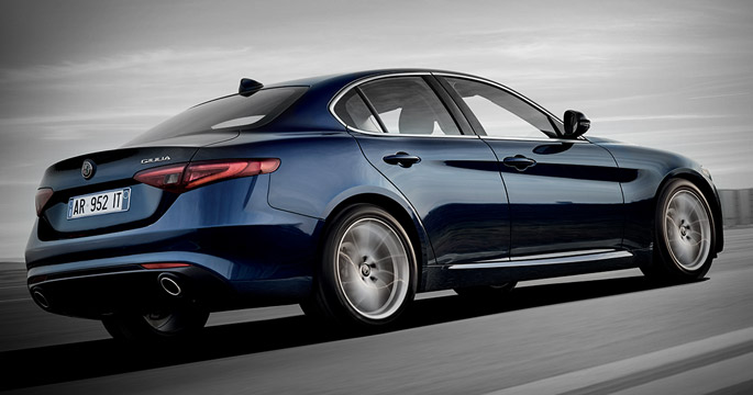 Sportovní pneumatiky Bridgestone s technologií run-flat pro nový model Giulia