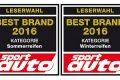 Čitatelia časopisu Sport Auto volia Continental za najlepšiu značku zimných a letných pneumatík