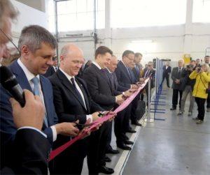 BRISK Tábor otvoril v ruskom Togliatti nový závod