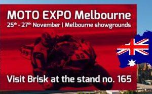 Brisk sa predstaví na výstave Moto Expo Melbourne