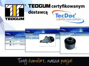 Tedgum sa stal certifikovaným dodávateľom v TecDocu