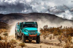Členovia tímu IVECO sa na Dakare 2017 opäť umiestnili medzi najlepšími pretekármi