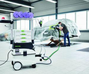 Spoločnosti 3M a Festool predstavujú komplexné riešenie pre opravy automobilov