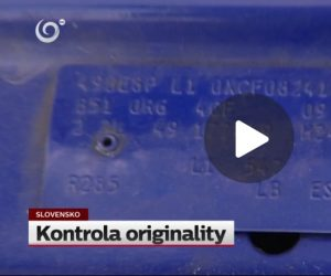 Reportáž Kontrola originality na TV JOJ
