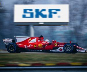 Scuderia Ferrari pretekajú s ložiskami SKF už 70 rokov