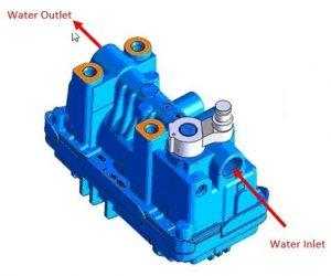 Ako pracuje turbodúchadlo s elektronickým ventilom chladeným vodou