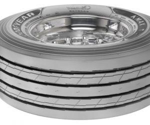 Nové pneumatiky Goodyear KMAX pre nízkoložné návesy