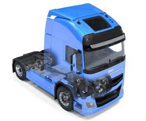 Zmeny v ložiskách SKF pre nákladné vozidlá