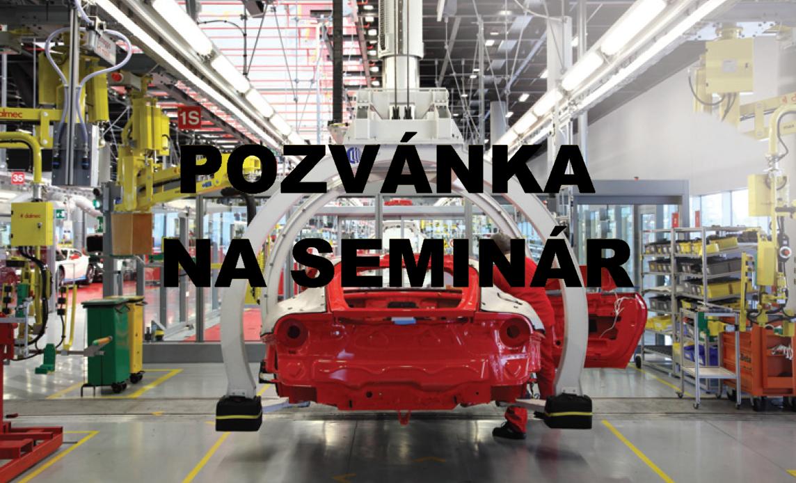 Pozvánka na seminár - AUTOMAX
