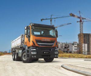 IVECO predstavuje nové nákladné vozidlo pre stavebníctvo Stralis X-WAY