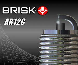 Nová zapaľovacia sviečka BRISK AR12C