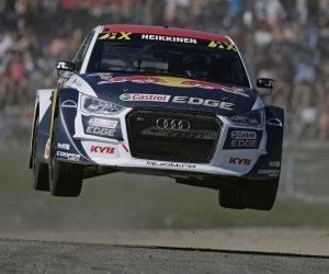 KYB sponzoruje tím EKS na FIA World Rallycross