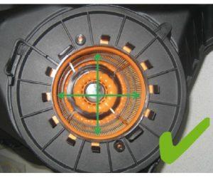 Nesprávna montáž vzduchového filtra v motoroch Audi do V