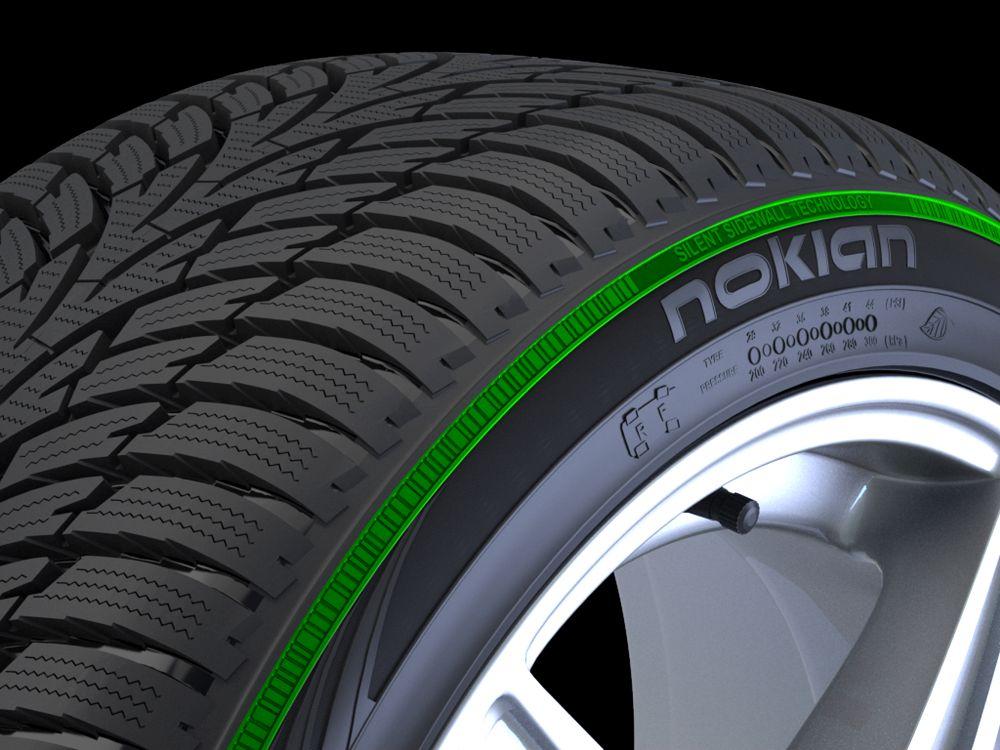 Technológia bočníc s tichým efektom je použitá pri pneumatikách Nokian WR A4, Nokian WR D3 a Nokian WR D4