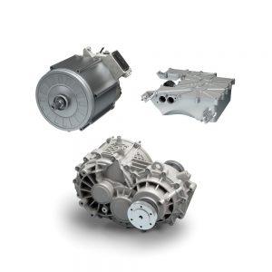 Bosch skombinoval tri komponenty pohonu do jedného