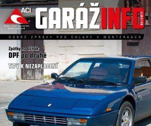Automagazín Garáž Info 02/2017 od spoločnosti ACI