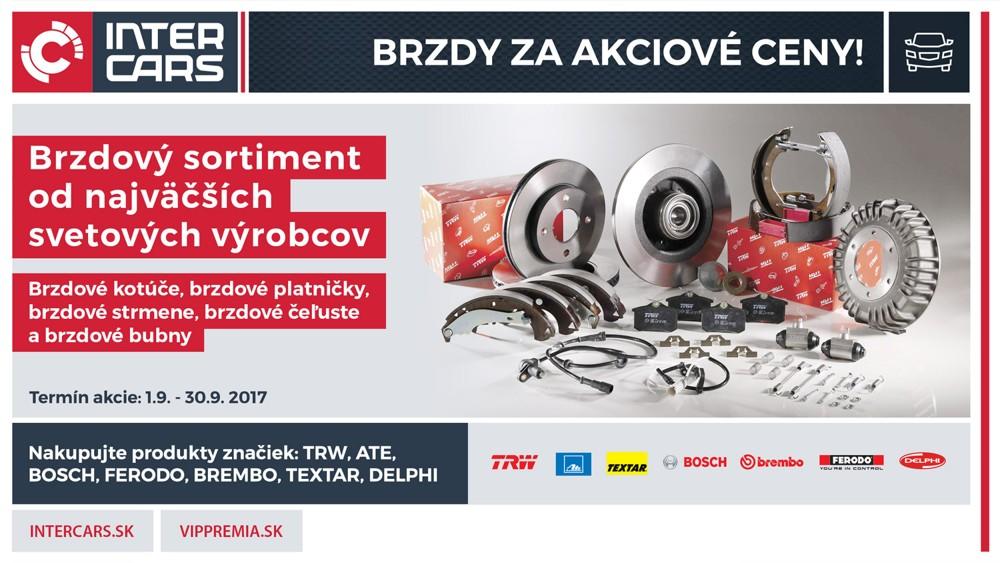 BRZDY - Veľká septembrová akcia u Inter Cars