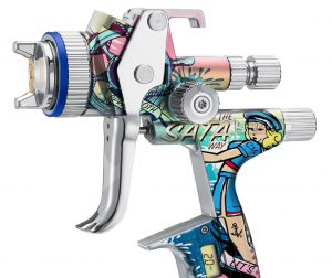 Limitovaná edícia striekacie pištole SATAjet 5000 B Sailor