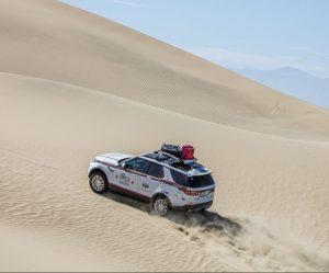 Goodyear sa podrobuje náročným testom na Land Rover Experience Tour Peru