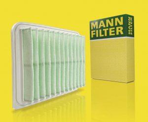 MANN-FILTER predstavuje inovačné filtračné médium z recyklovaných vlákien