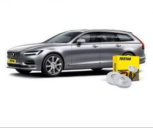 Nové brzdové kotúče Textar pre nové Volvo V90 II