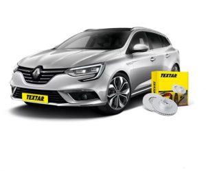 Brzdové kotúče Textar pre nový Renault Megane Grandtour