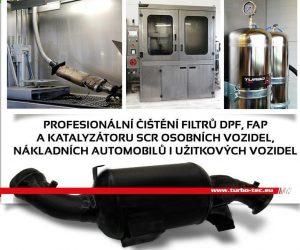 Čistenie DPF filtrů - novinka u Turbo-Tecu