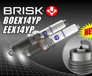 Nové zapaľovacie sviečky BRISK pre motory TSI / TFSI