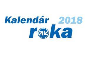 Kalendár roka 2018 je od firmy Auto Kelly