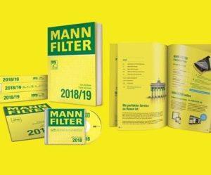 Nový katalóg MANN-FILTER 2018-2019