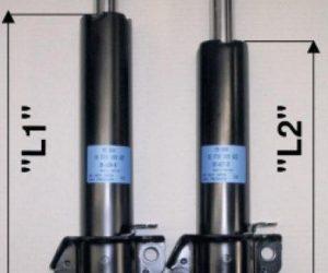 Správna identifikácia predných tlmičov pre MB-Sprinter / VW-LT